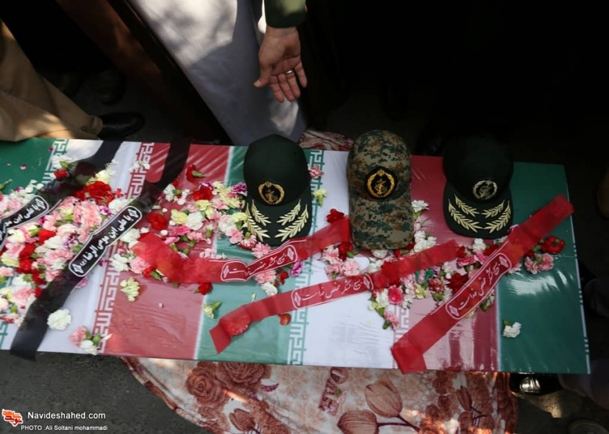 Tehran holds funeral for Martyr Mahdi Rezvan+ Top images